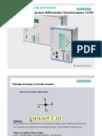 Chap10_Protection Différentielle Transformateur 7UT61