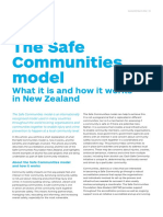 Safe Communities Model With Examples -AlcoholNZ-March-2016