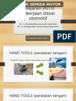 Presentasi Materi Hand Tools