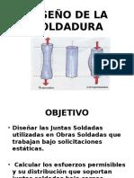 3. Diseño de La Soldadura