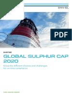 DNV GL Global Sulphur Cap 2020 2016