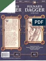 d20 Alderac Entertainment Group Folnar's Dagger