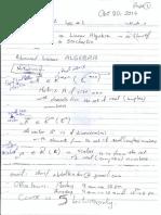 Advanced Math Lec 1