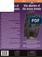 d20 Alderac Entertainment Group the Murder of the Seven Points