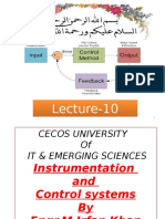 Instrumentation and Control - Lecture 12