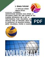 Popular Sports in Albania