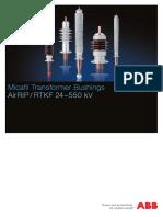 Bushing Instllation Manual-ABB Type AIRRIP-RTKF