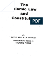 The Islamic Law & Constitution