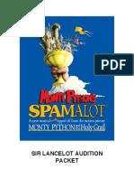Lancelot spamalot