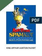 King Arthur spamalot