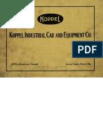 Koppel Industrial Car