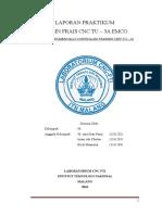 Laporan Praktek CNC TU 3A