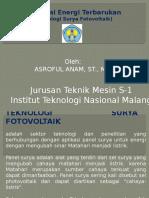 Teknologi Surya Fotovoltaik