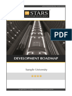 QS STARS 2012 Sample Roadmap