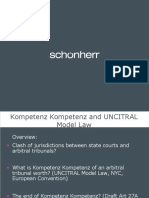 Principle of Kompetenz Kompetenz
