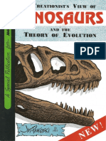 Creationist View of Dinosaurs & the Theory of Evolution [Comic]