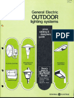 GE Lighting Systems Price Book - Outdoor Designers Guide 10-78 - 3-79