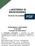 CURS 1 Crestere Si Dezvoltare - Oct 2016