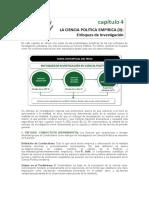 4. La Ciencia Política Empírica II