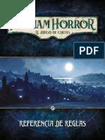Arkham Horror - El juego de cartas (Referencia de reglas)