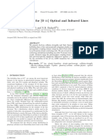 Collision Strengths for [O III] Optical and Infrared Lines