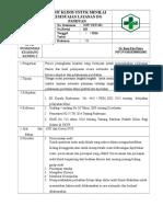 Sop Audit Klinis & Evaluasi Kesesuaian