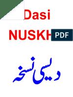 Dasi Nuskha