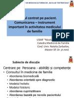 Consultul Centrat Pe Pacient