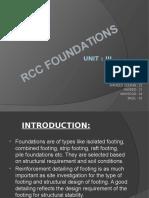 Rcc Foundation-unit 3