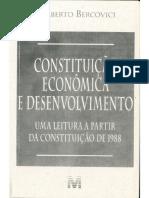 Constituição Econômica e Desenvolvimento 11 a 86