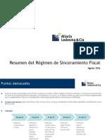 Presentación Sinceramiento Fiscal ALLARIA LEDESMA