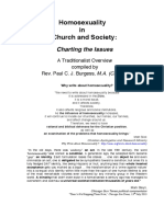 Homosexuality in Church Society Charting the Issues