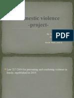 Violenta domestica - Cluj