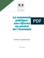 Brochure Commande Publique