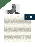 ALFRED ADLER - biografia ´+ cuadro comparativo teorias