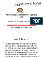 Curso CQI-ACCE Torrefaccion Bogota