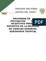 Programa de Motivación de La FCA