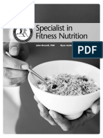ISSA Fitness Nutrition Certification Chapter Preview