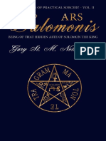 Ars Salomonis_ Being of That Hidden Arte of Solomon the King (Foundations o
