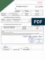 Informe Tecnico Suc. Recoleta 5610