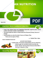 Powepoint report for human nutrition