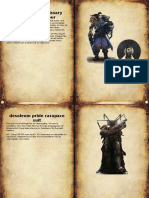Armour Pattern Cards