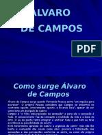 Alvaro de Campos - Fases