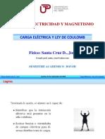 ElectrostAtica, Carga ElEctrica y Ley de Coulomb)
