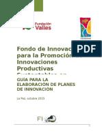 3 Guia Para Elaborar Planes de Innovacion Formato