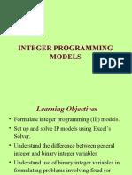 MS(Integer Programming) 1