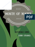 Month of Magick_ 30 Ways for 30 Days