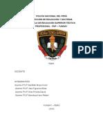 Formaciones Tacticas Pnp