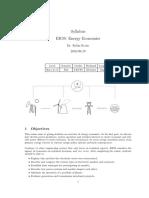 Economics of Electrial Energyr59_syllabus