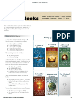Ice and Fire Books